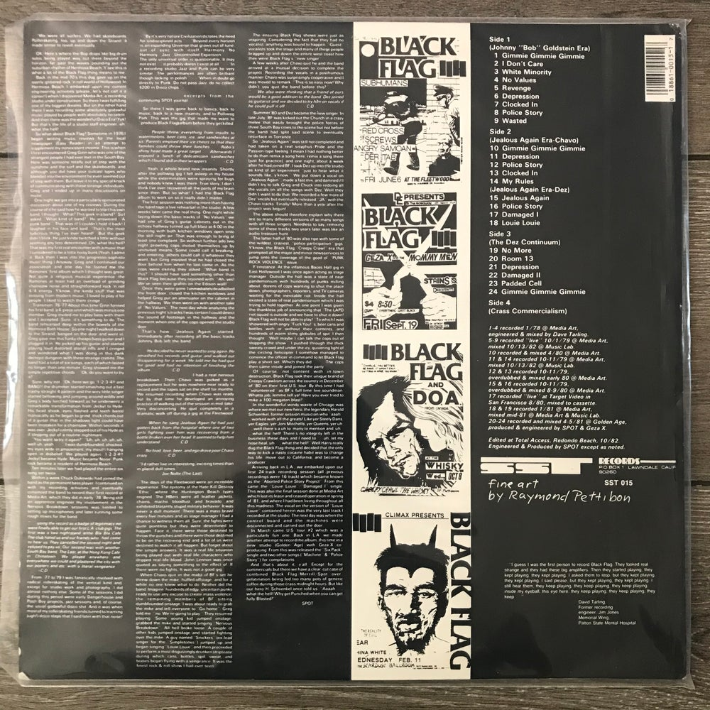 Image of Black Flag - Everything Went Black Vinyl 2xLP