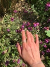 Recycled Chunky Silver Ring based on Park Hill Flats