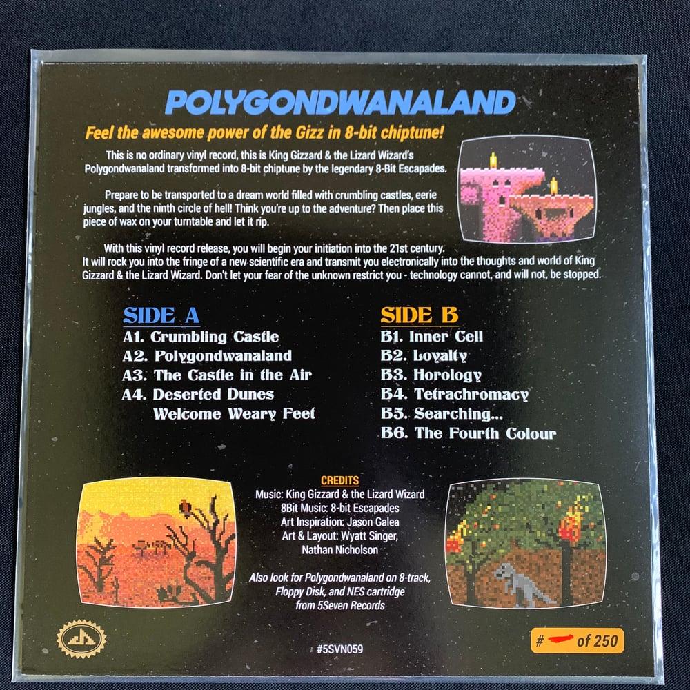 "Image of 8-bit Poly - 12"" Yellow Vinyl by 8-Bit Escapades"