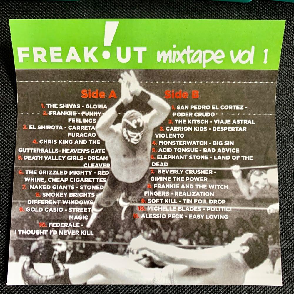 Image of Freakout Mixtape Vol. 1 - Cassette