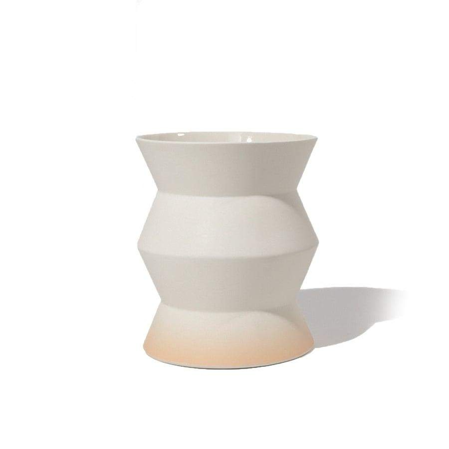 Image of High ZigZag Planter/Vase