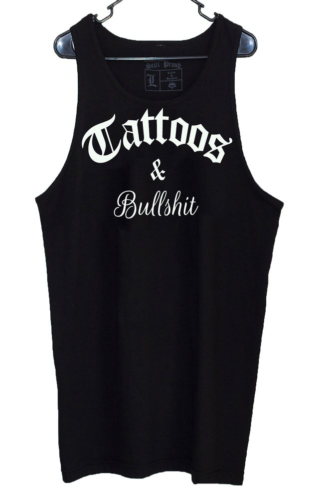 Image of TATTOOS & BULLSHIT Tank-Tops