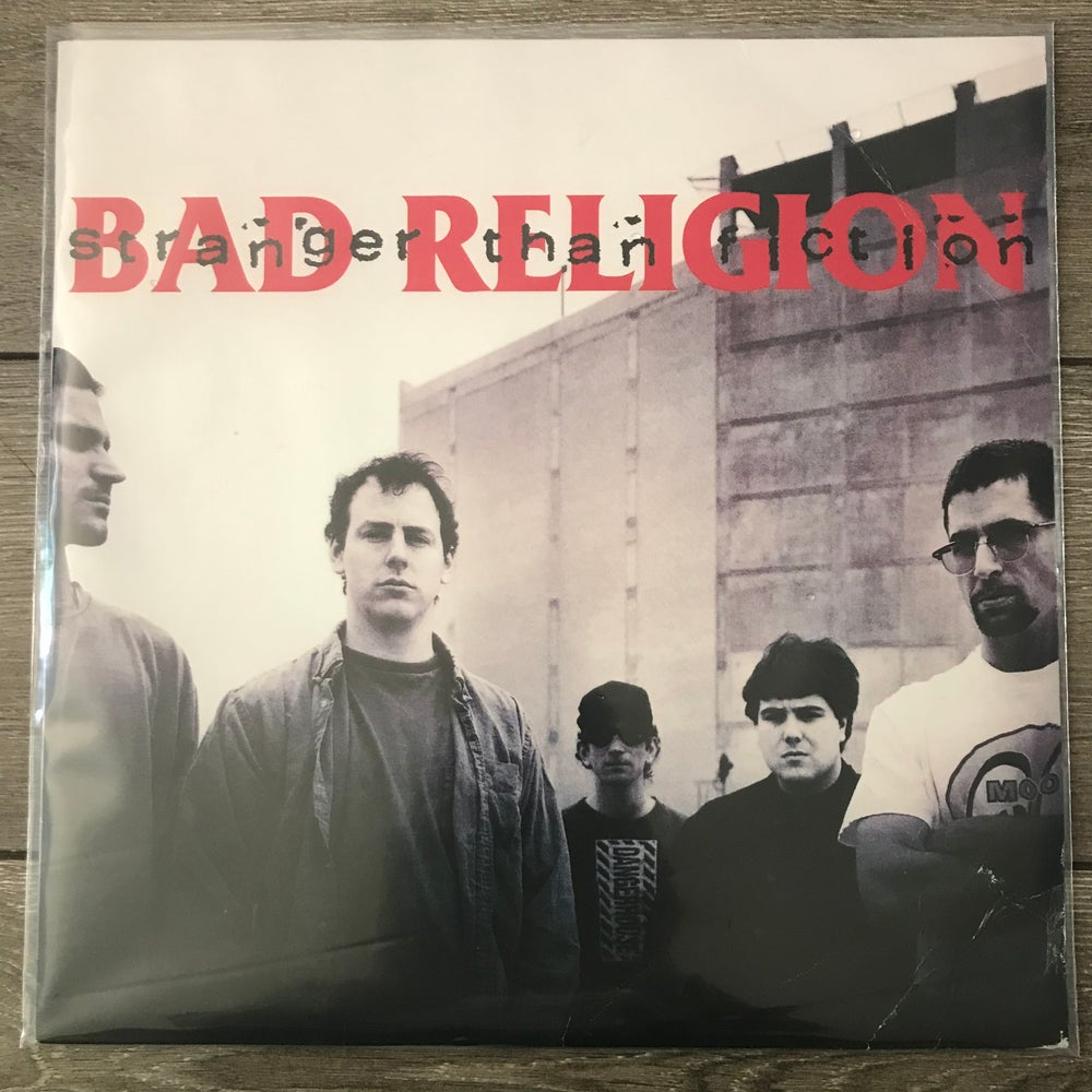 Image of Bad Religion - Stranger Than Fiction Vinyl LP