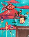 Fishbowl Fantasy Print
