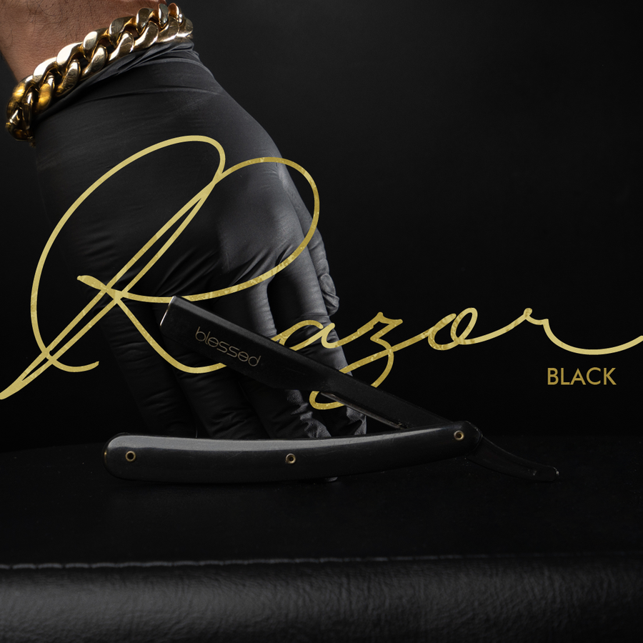 Image of The Exposed All Black Razor