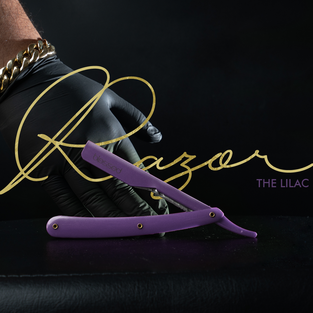 Image of The Lilac Exposed Razor @lilifades edition