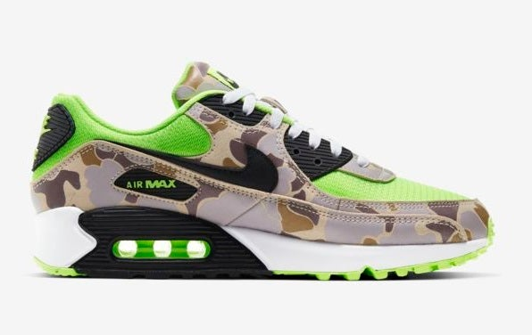 """Image of Air Max 90 QS """"Green/Duck Camo"""""""