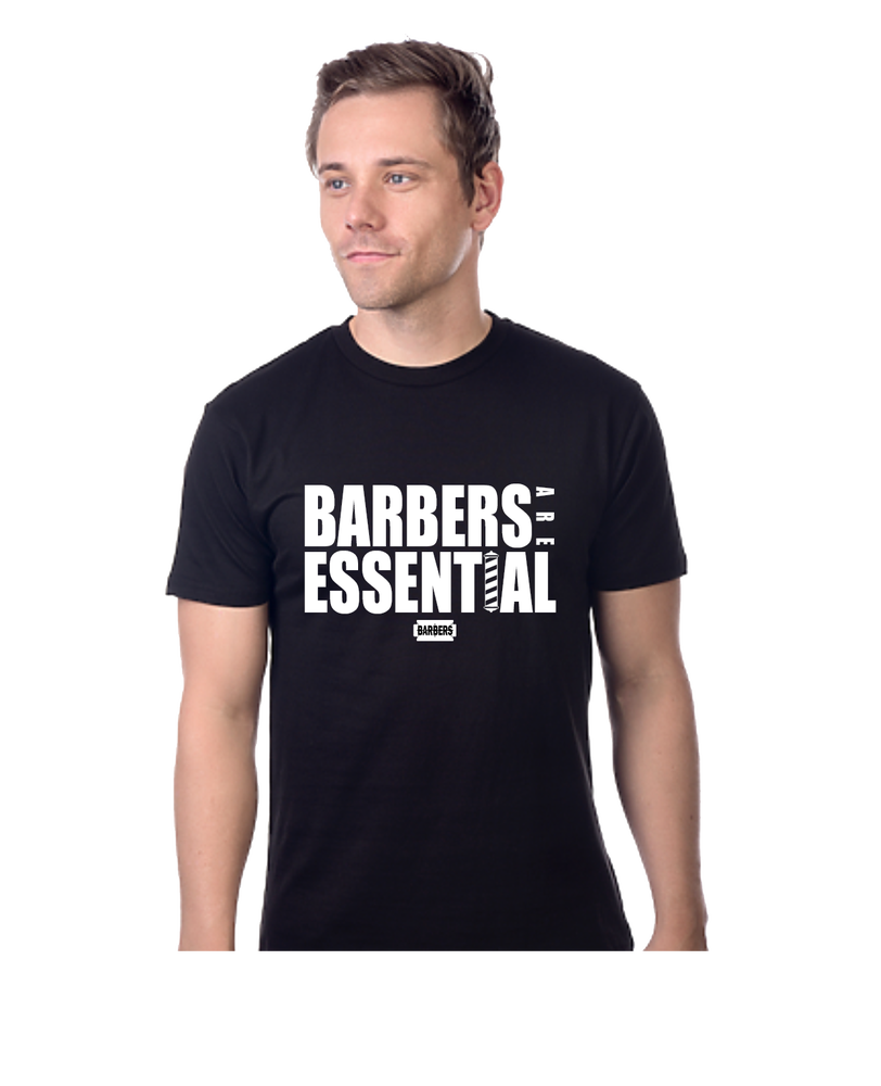 Image of Barbers Are Essential Men's Tee