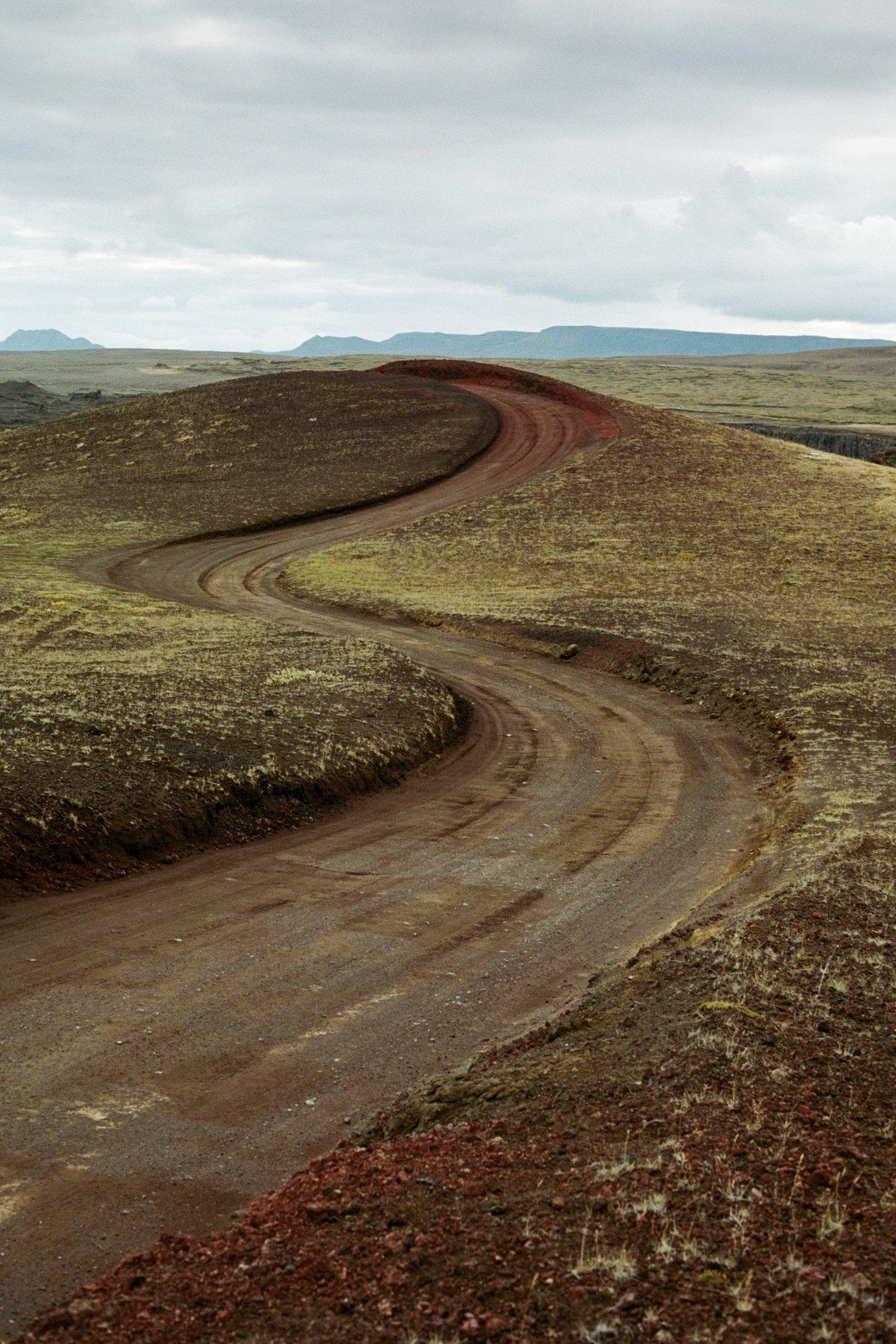 Image of icelandic road