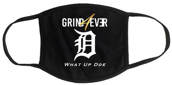 Image of GRIND4EVER DETROIT MASK - BLACK