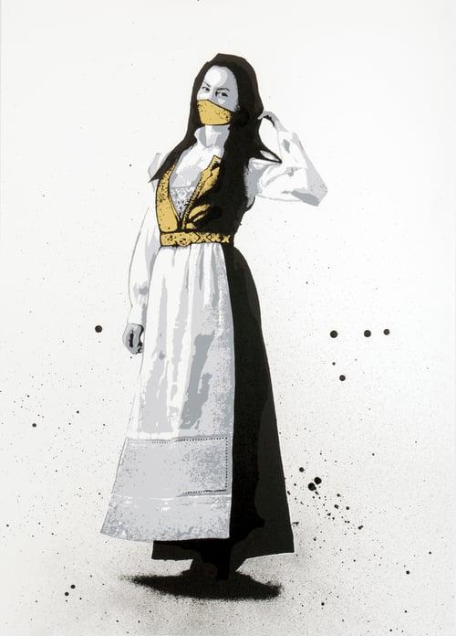 Image of Pyritt - May 2020 Handfinished (white)
