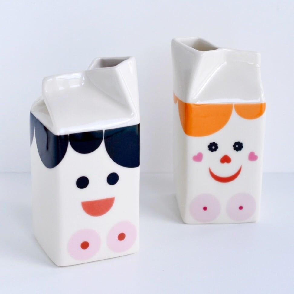 Image of Lady Milk Jug