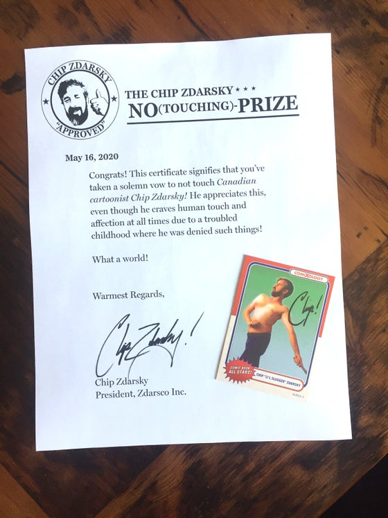 Image of Trading Card and No-Prize!
