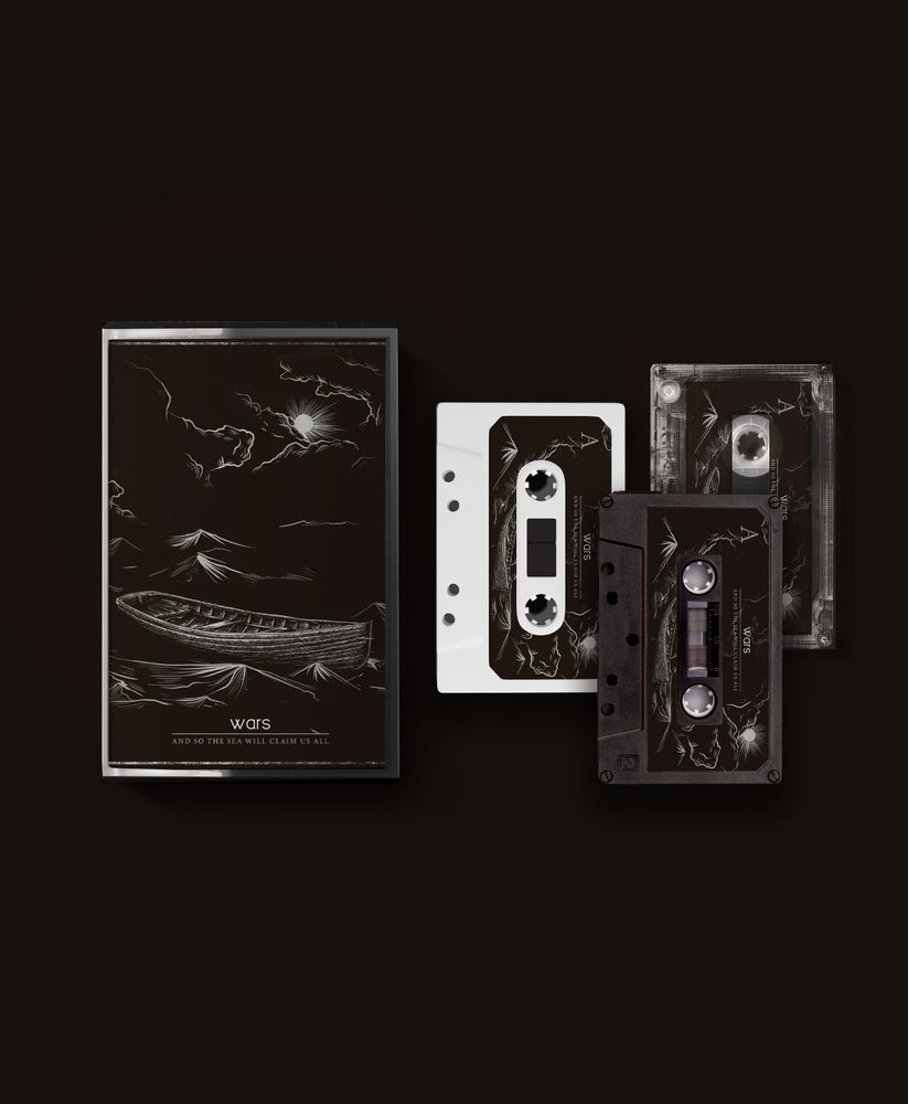 Image of 'And So The Sea Will Claim Us All' 5 year Anniversary Cassette