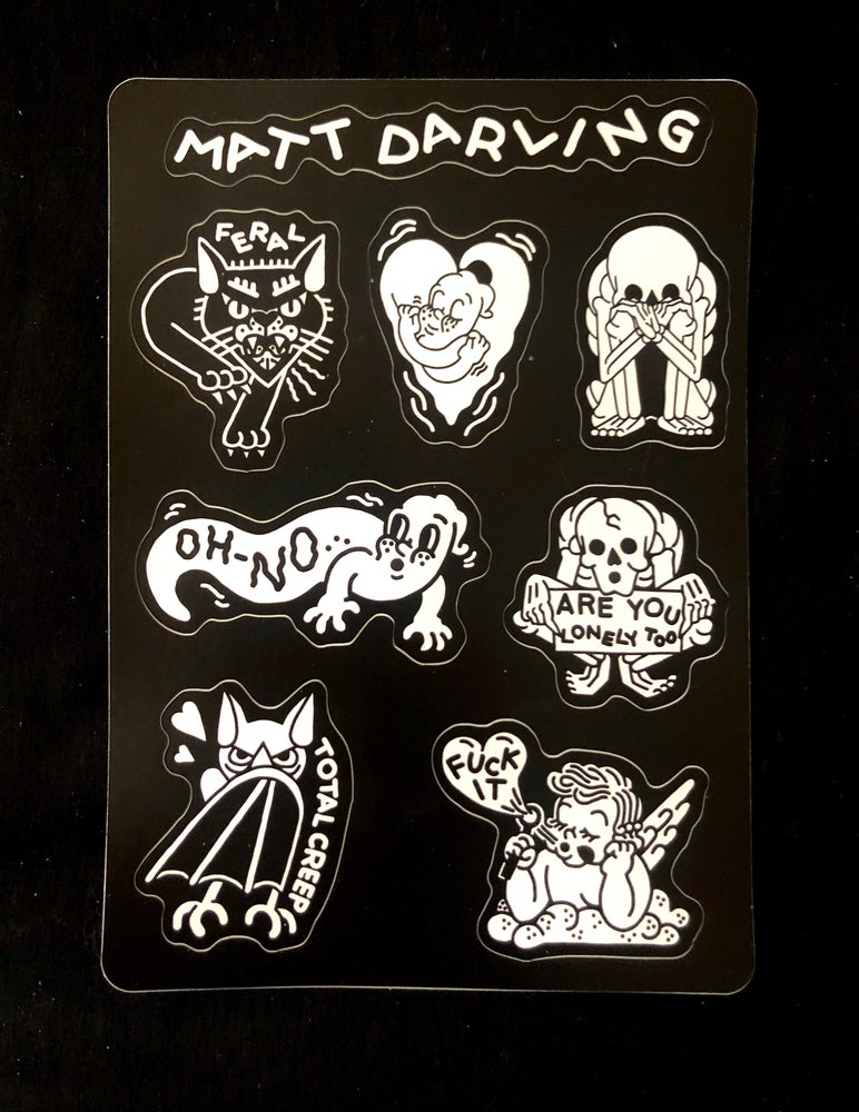 Image of Limited sticker sheet