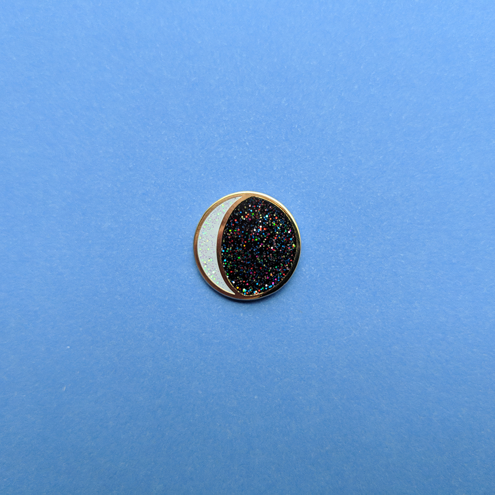 Image of Moon Phases Mini Pins - Limited Edition