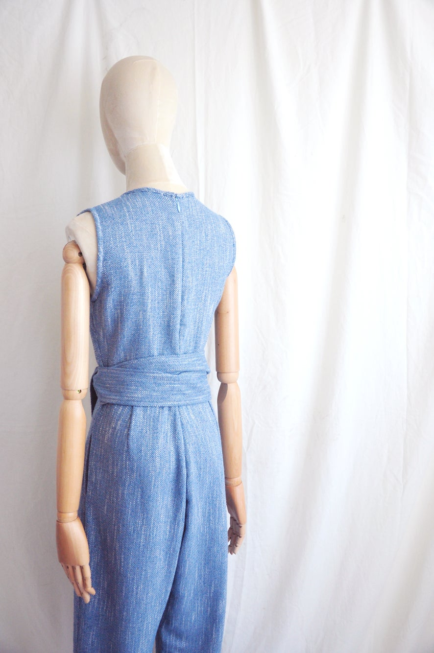 Image of COTTON BELTED JUMPSUIT