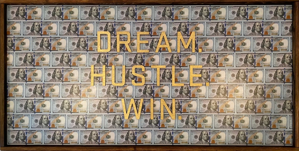 Image of DREAM. HUSTLE. WIN.