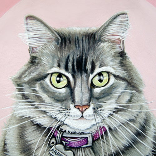 Image of Custom Portrait for One (person or pet) price: $150.