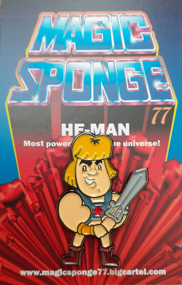 Image of He-Man Pin.