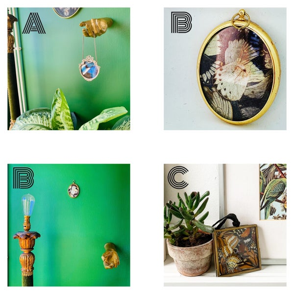 Image of Butterfly Wing Wall Hangings
