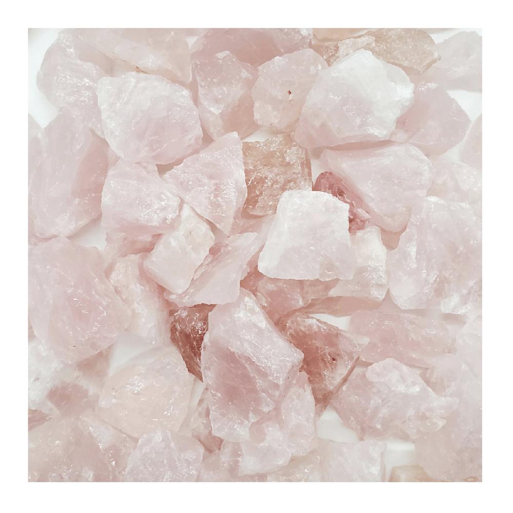 Image of Rose Quartz Raw Stones