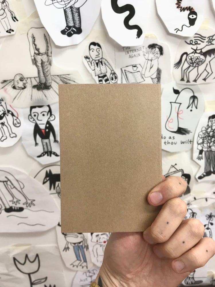 Image of notebook / sketchbook - VAGUE NOTES ON WORLD DOMINATION
