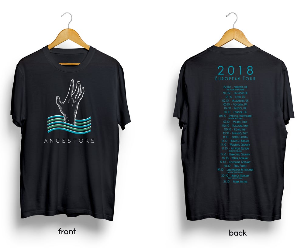 Ancestors 2018 European Tour Shirt