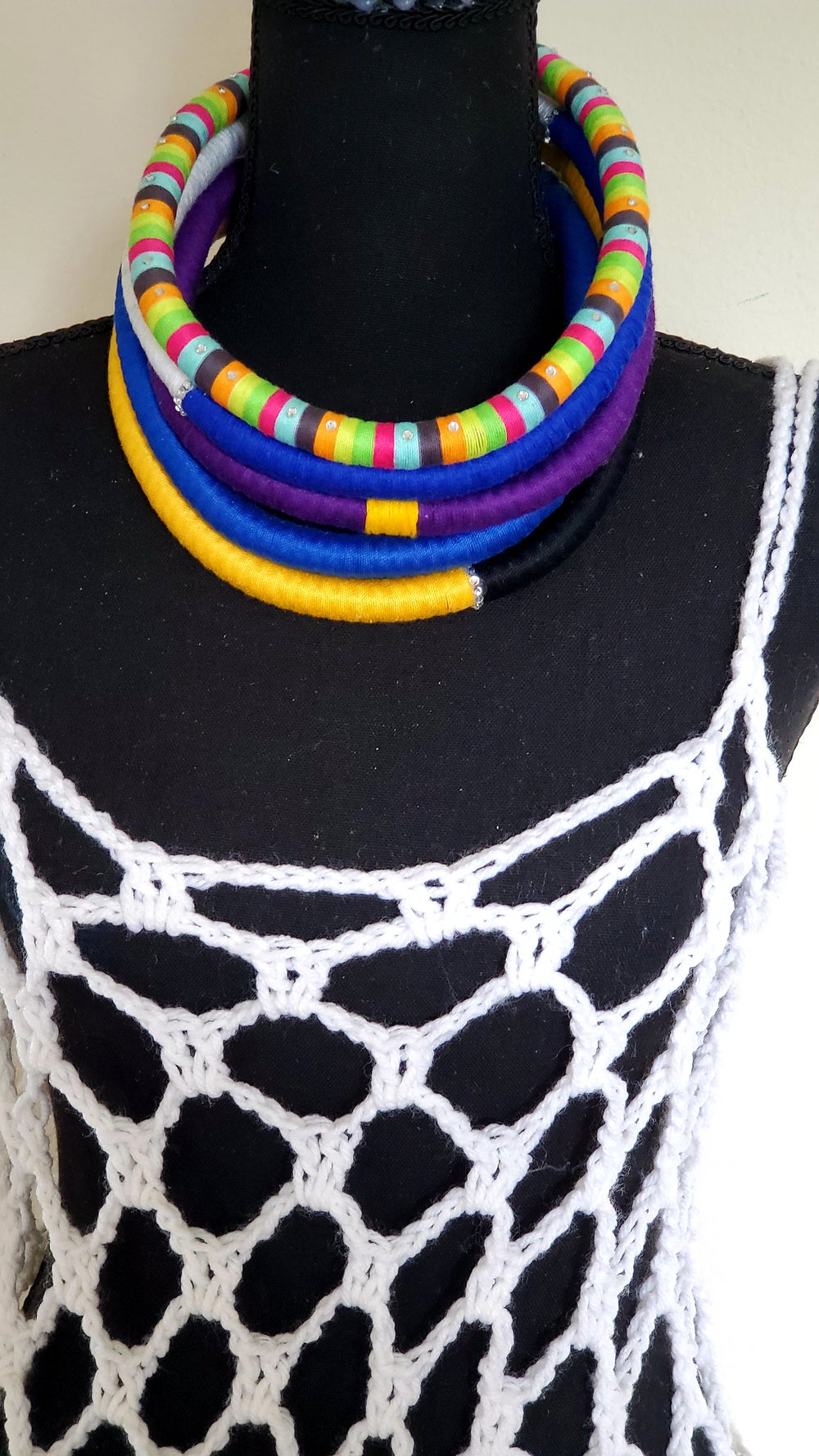 """Image of Solo Rope Necklace -18"""" Single Color"""