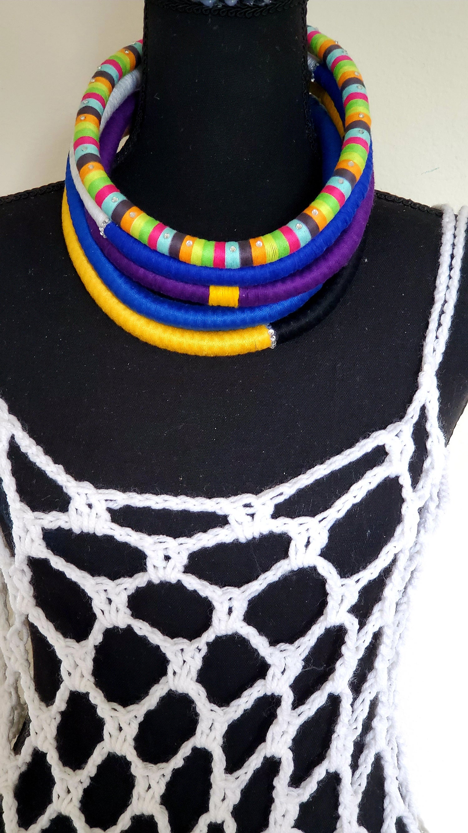 "Image of Solo Rope Necklace -18"" Single Color"