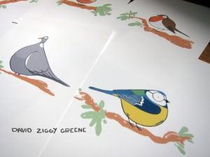 Garden Birds greeting card set (Charity item)