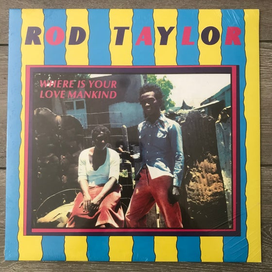 Image of Rod Taylor - Where Is Your Mankind Vinyl LP