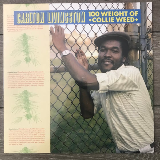 Image of Carlon Livingston - 100 Weight Of Collie Weed Vinyl LP