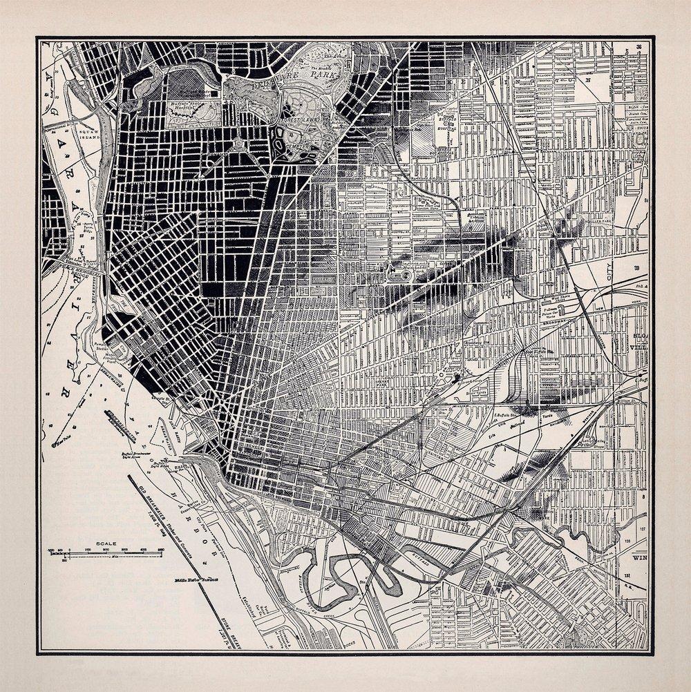 Image of Buffalo NY Limited Print