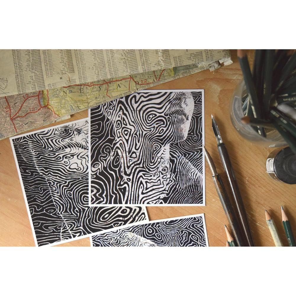 Image of Set of 3 Limited Postcard Prints: Chillingham, East Woodburn, Shropshire Hills