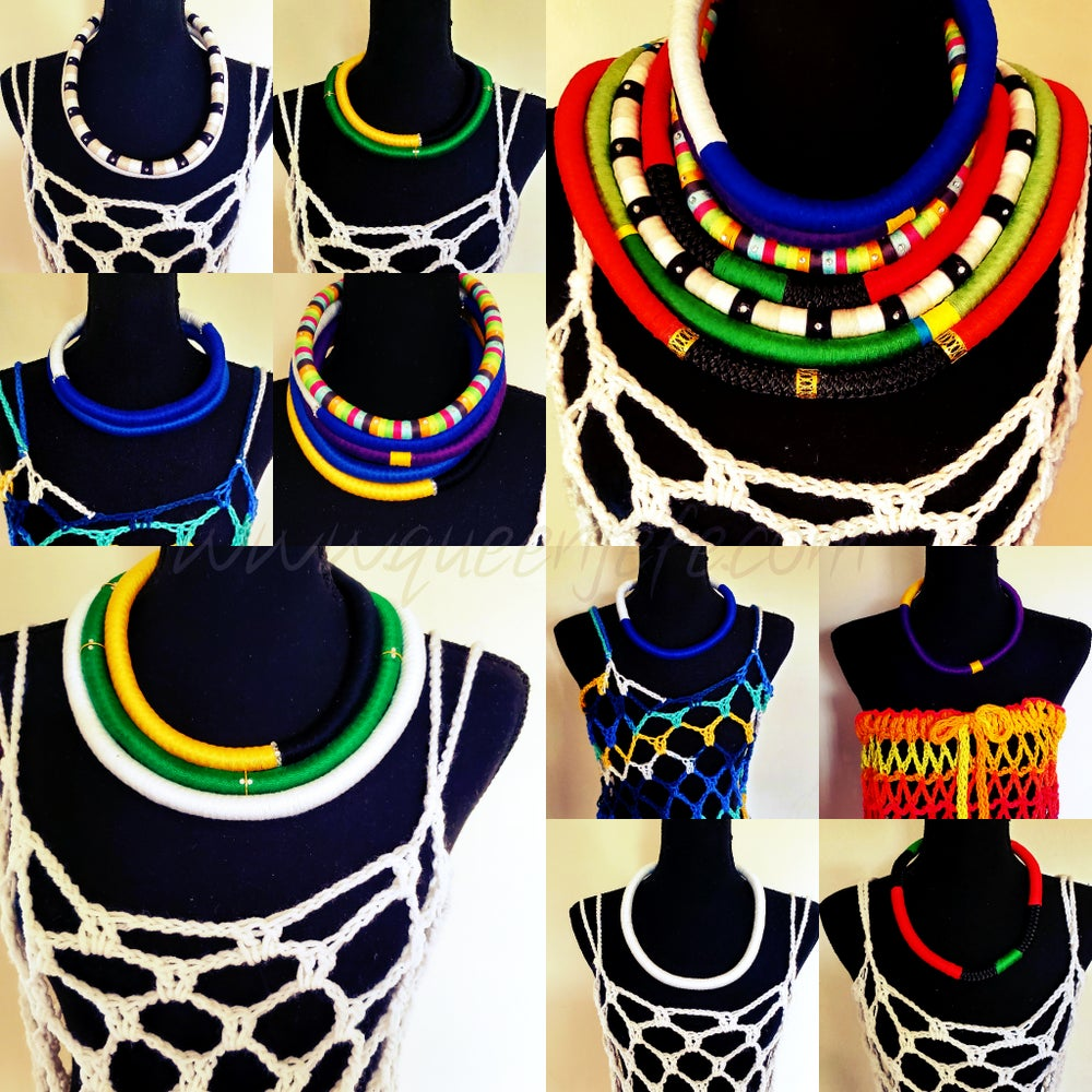 Image of Rope Necklaces -Layered x2
