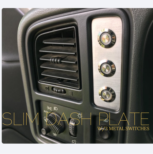 Image of *01-06 Silverado dash plates