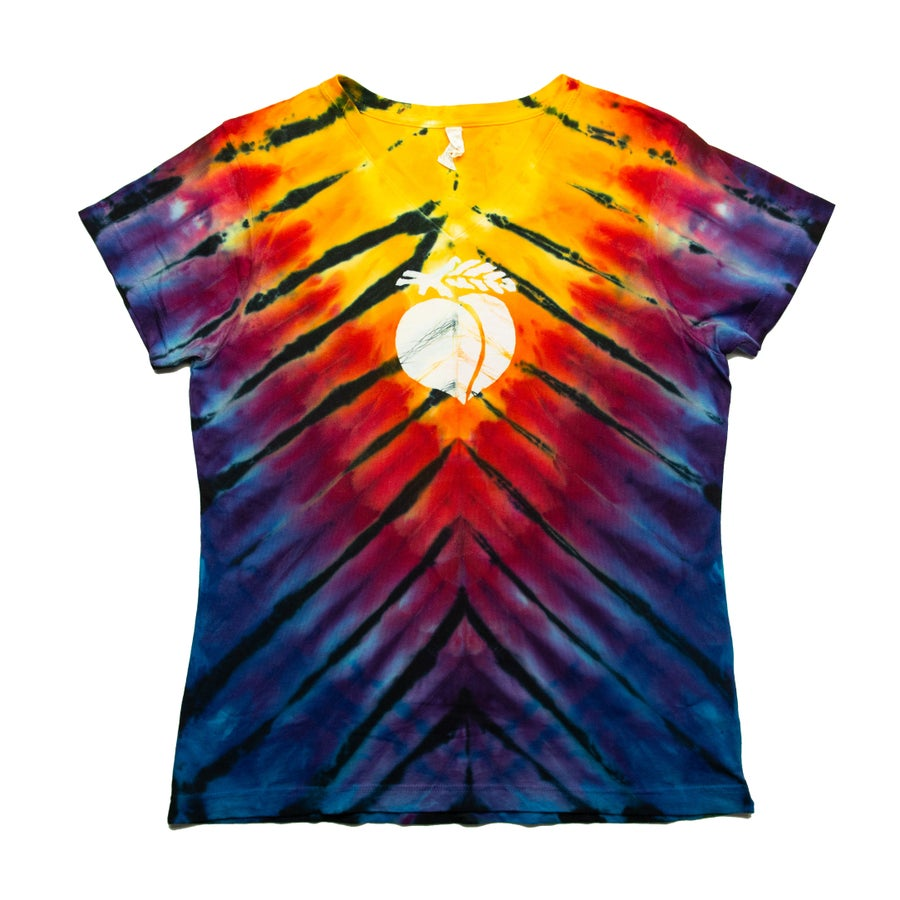 Image of Incline Tie Dye with Peach