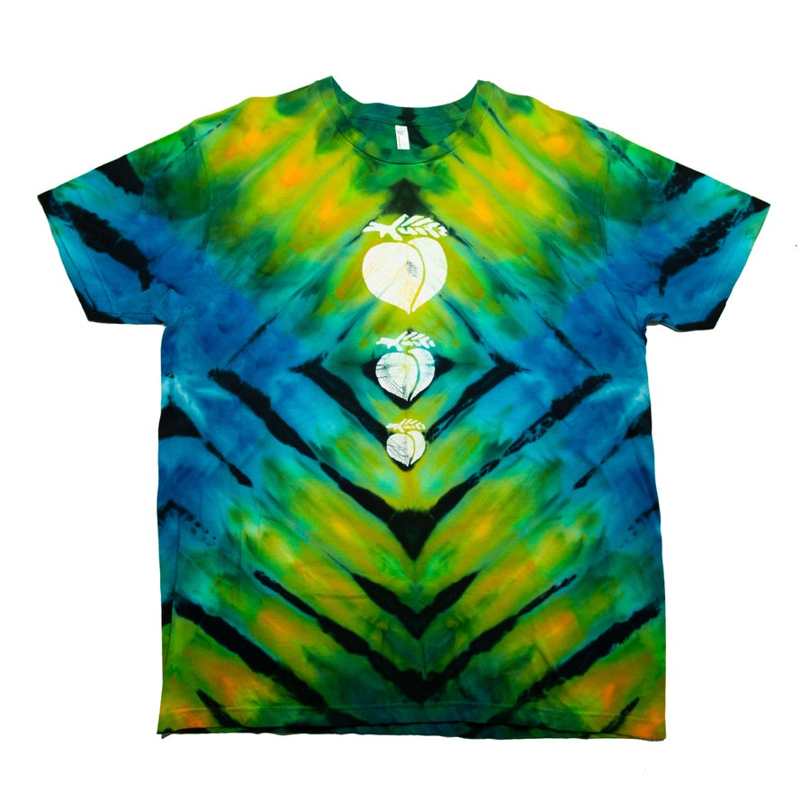 Image of Incline Tie-Dye with Peaches