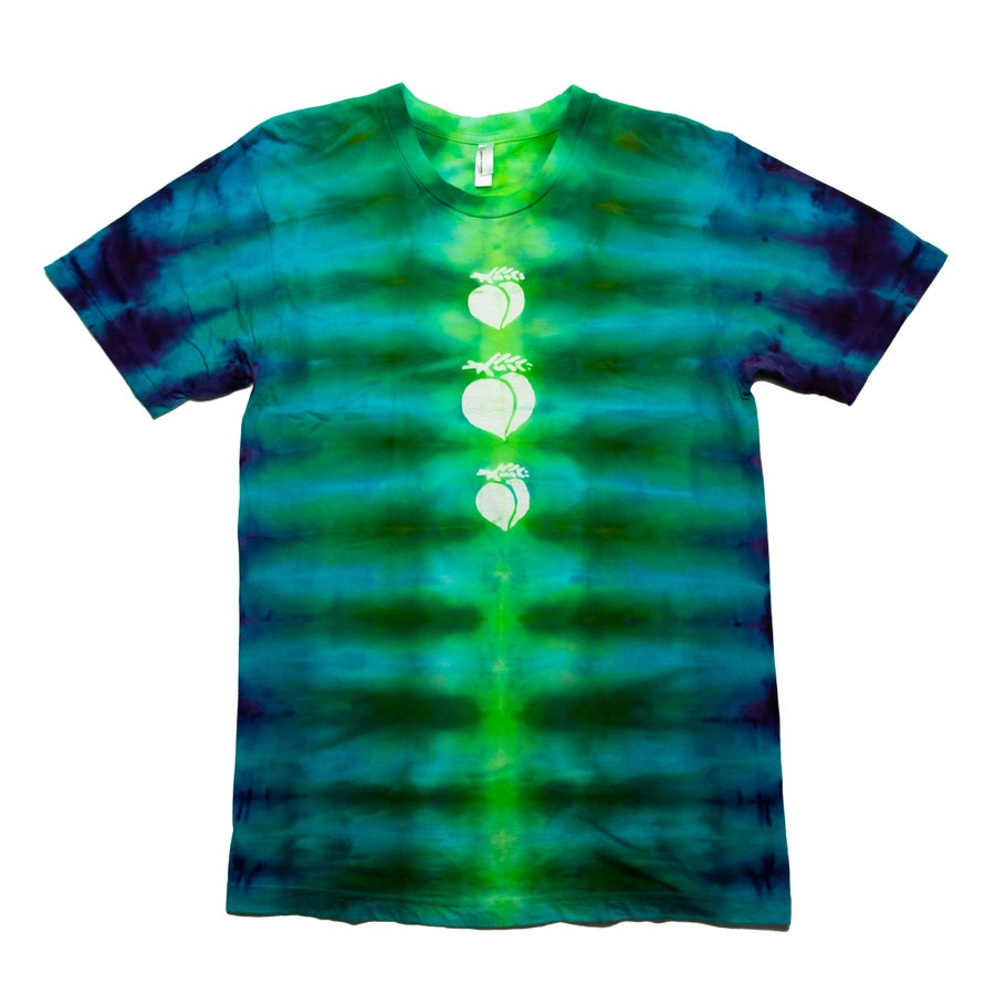 Image of Inclined Tie-Dye with Peaches