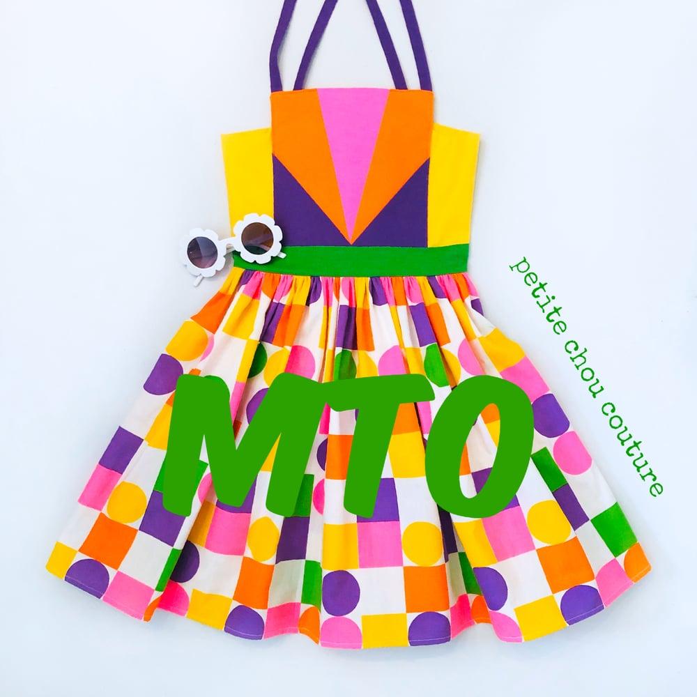Image of Geometry sundress -MTO