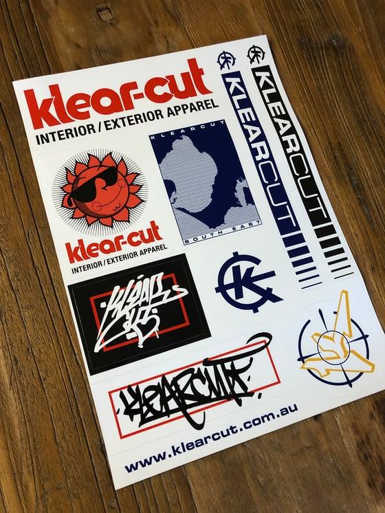 Image of Klearcut A4 slap sheet,