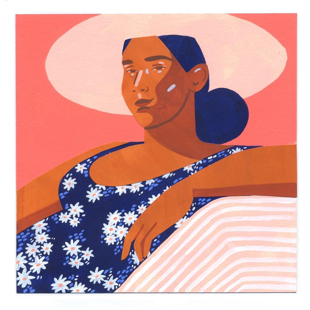 Image of Sierra #1 original painting