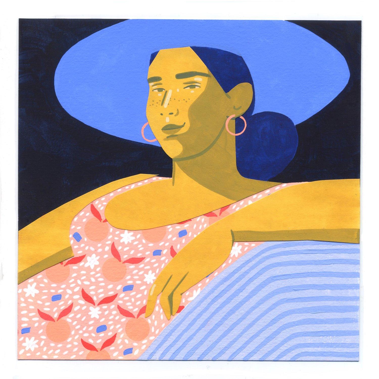 Image of Sierra #2 original painting