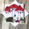 Toadstool Party card