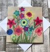 Bright Flowers card