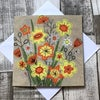 Daffs and Daisies Card