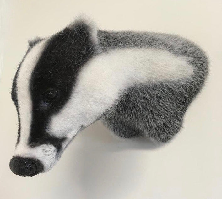 Image of Badger Sculpture