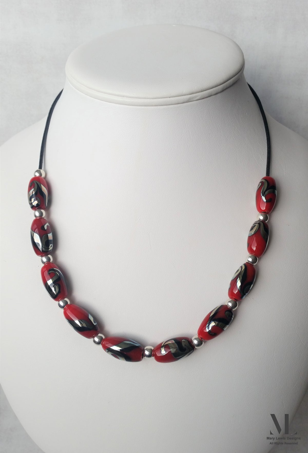 """""""Fire and Ice"""" Necklace"""