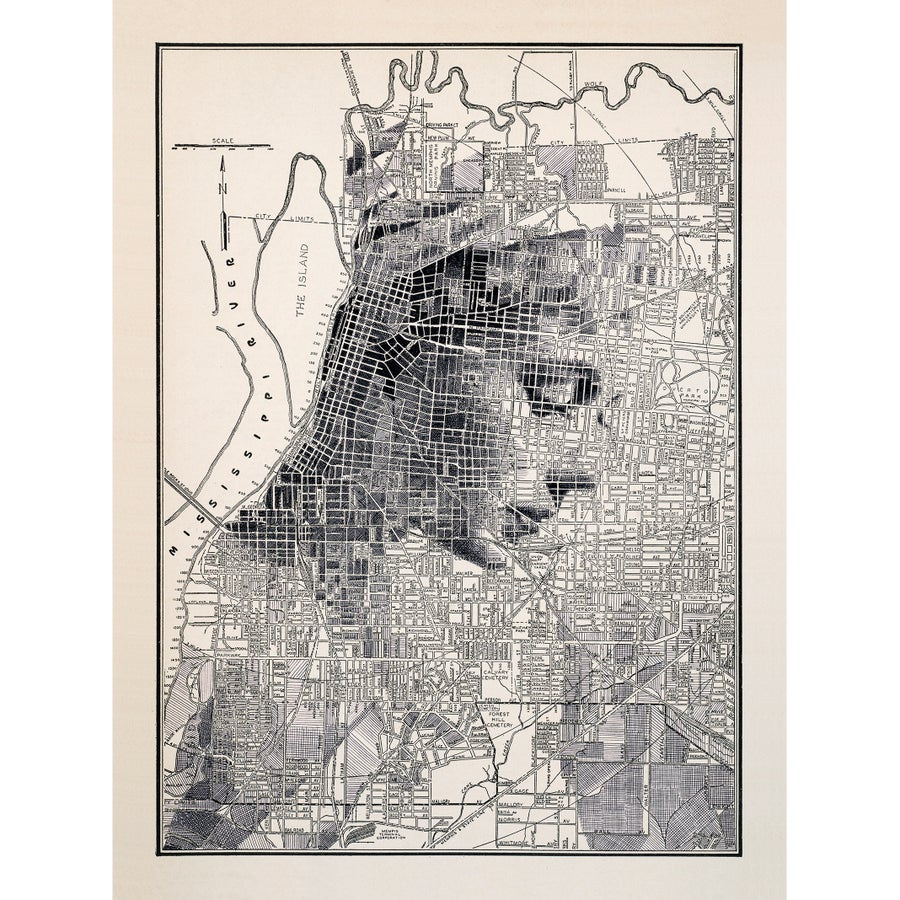 Image of Memphis TN Limited Print